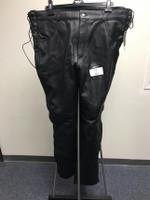 First Classics Men's Baron Leather Pant Black Size 42