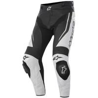 Alpinestars Track Airflow Leather Pants White