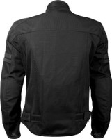 Highway 21 Turbine Jacket Black Back View