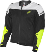 Fly Mesh Flux Air Jacket Hi Viz View