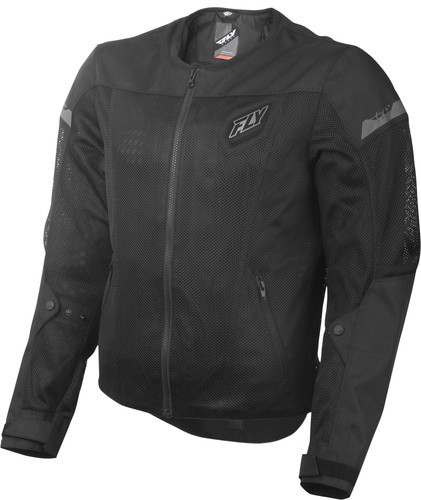 Fly Mesh Flux Air Jacket Black View