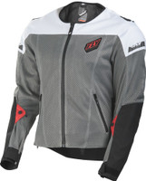 Fly Mesh Flux Air Jacket White View