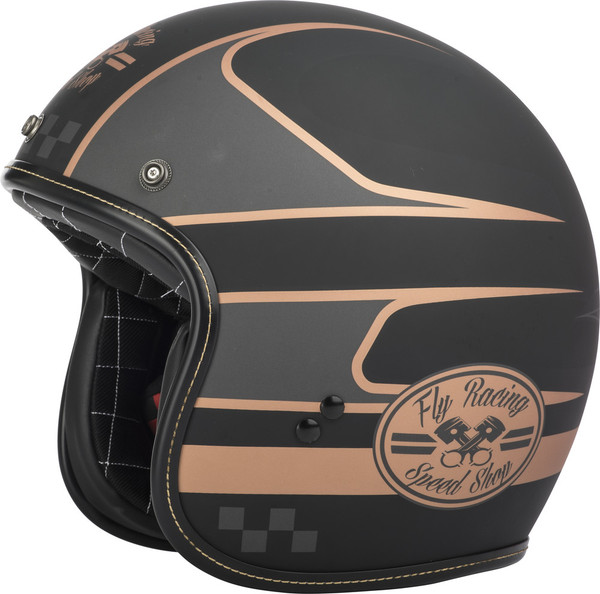 Fly Racing .38 Wrench Open Face Helmet