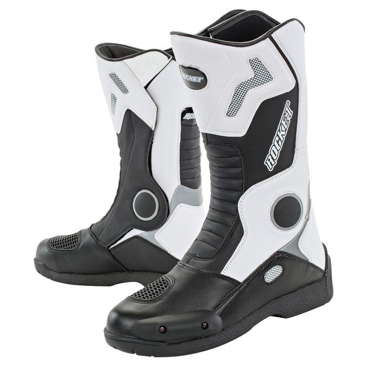 307448e16dcdd Joe Rocket Ballistic Tour White Boots - from Motorcycle House