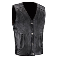 Viking Cycle Five Cent Motorcycle Vest for Men