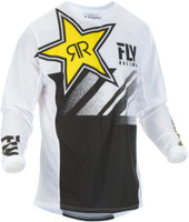 Fly Racing Kinetic Mesh Rockstar Jersey Main View