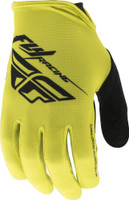 Fly Racing Media Gloves Lime View