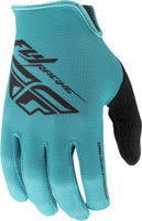 Fly Racing Media Gloves Teal View