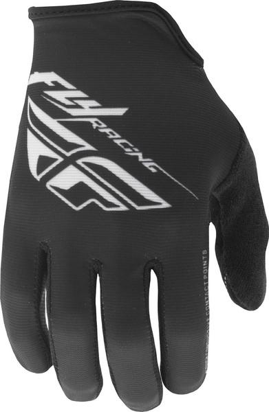 Fly Racing Media Gloves Black Main View