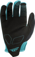 Fly Racing Media Gloves Teal back View