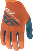 Fly Racing Media Gloves Orange View
