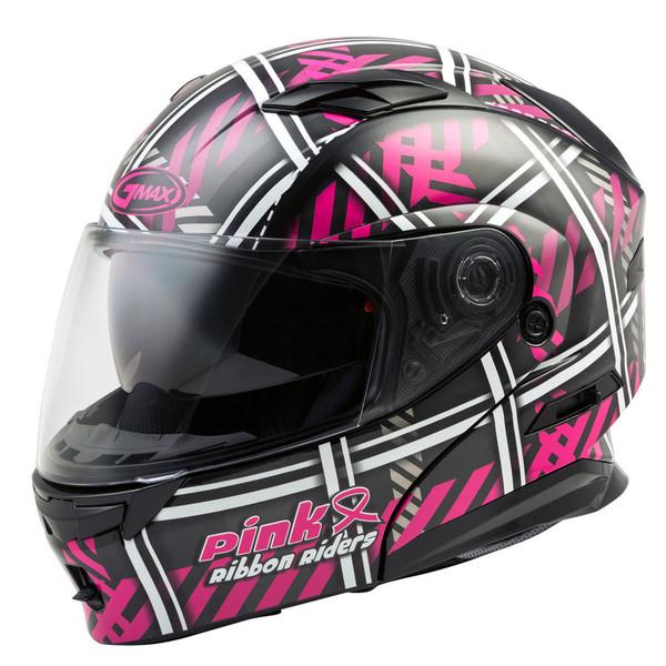 G-Max MD-01 Pink Ribbon Riders Helmet Main View