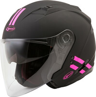 G-Max OF-77 Open-Face Downey Helmet