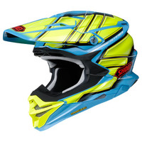 Shoei VFX-EVO Glaive Helmet Yellow