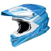 Shoei VFX-EVO Zinger Helmet Blue