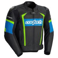 Cortech Adrenaline 2.0 Jacket Blue/Hi-Viz