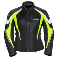 Cortech GX Sport Air 5.0 Women's Jacket Hi-Viz