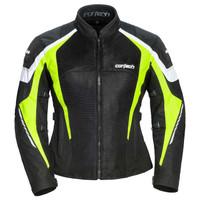 Cortech GX Sport Air 5.0 Women's Jacket Hi-Viz