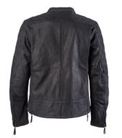 Roland Sands Design Men's Rockingham Leather Jackets Black Back View
