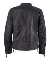 Roland Sands Design Men's Rockingham Leather Jackets Black Back View