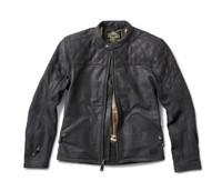 Roland Sands Design Men's Rockingham Leather Jackets Black Open View