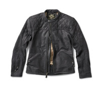 Roland Sands Design Men's Rockingham Leather Jackets Black Open View