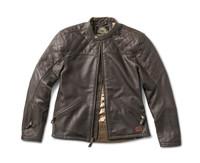 Roland Sands Design Men's Rockingham Leather Jackets Brown Open View
