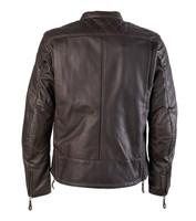 Roland Sands Design Men's Rockingham Leather Jackets Brown Back View