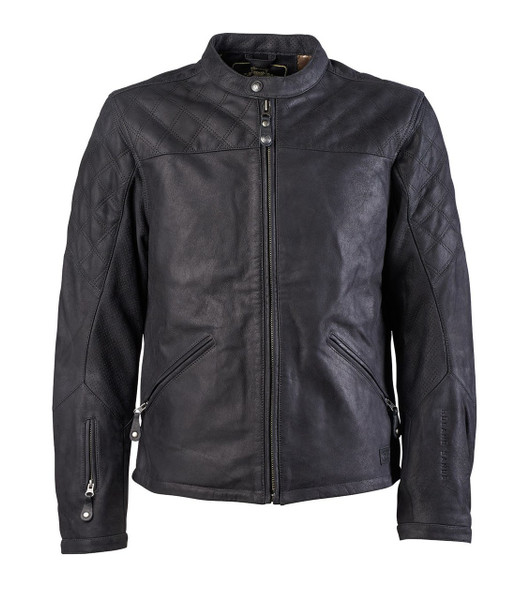 Roland Sands Design Men's Rockingham Leather Jackets Black Main View