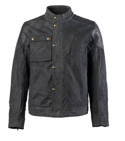 Roland Sands Design Men's Truman Perforated Waxed Cotton Jacket