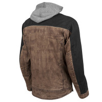 Speed and Strength Men's Rough Neck Textile Jacket