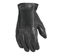 Roland Sands Design Men's Bronzo Leather Gloves Black Main View