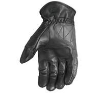 Roland Sands Design Men's Bronzo Leather Gloves Black Inner View