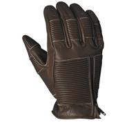 Roland Sands Design Men's Bronzo Leather Gloves Tobacco Front View