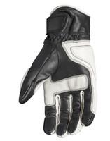 Roland Sands Design Men's Rourke Leather Gloves White Inner View