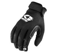EVS Assen Mens Textile Gloves Black
