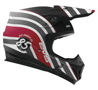 EVS T5 Cosmic Off Road Helmet For Men's Black View