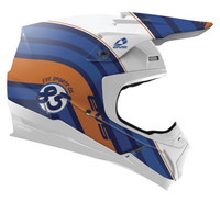 EVS T5 Cosmic Off Road Helmet For Men's Blue View