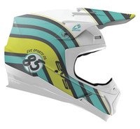 EVS T5 Cosmic Off Road Helmet For Men's Matte Blue
