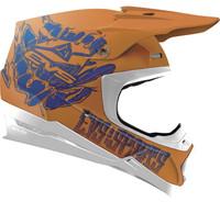 EVS T5 Egon Off Road Helmet For Men's Orange View
