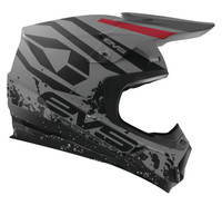 EVS T5 Grappler Off Road Helmet For Men's Grey View