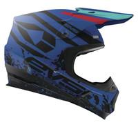 EVS T5 Grappler Off Road Helmet For Men's Blue View