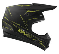 EVS T5 Pinner Off Roads Helmet For Men's Black View