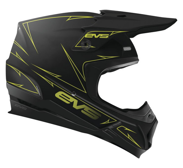 EVS T5 Pinner Off Roads Helmet For Men's Black View