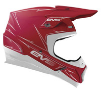EVS T5 Pinner Off Roads Helmet For Men's Red View