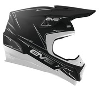EVS T5 Pinner Off Roads Helmet For Men's White View