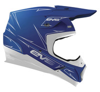 EVS T5 Pinner Off Roads Helmet For Men's Blue View