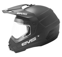 EVS T5 Dual Sport Venture Off Road Helmet For Men's Matte Black View