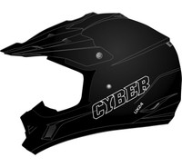 Cyber UX-24 Off Road Helmets For Men's Black View