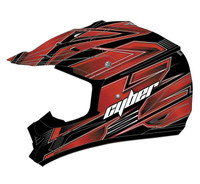 Cyber UX-24 Bandit Off Road Helmets For Men's Red/Black View